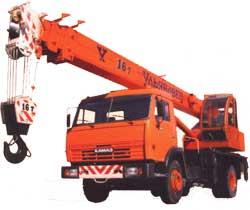 Автокран МКТ-16