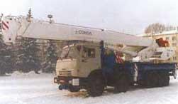 Автокран СКАТ-40 (КС-6574)