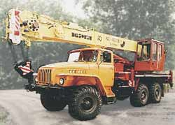 Автокран КС-45718