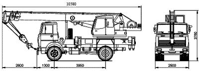 Автокран КС-45729А