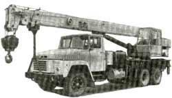 Автокран КС-4573