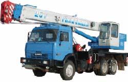 Автокран КС-55713-1Б