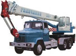 Автокран КС-55729-4