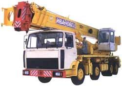 Самоходный кран КС-6973A